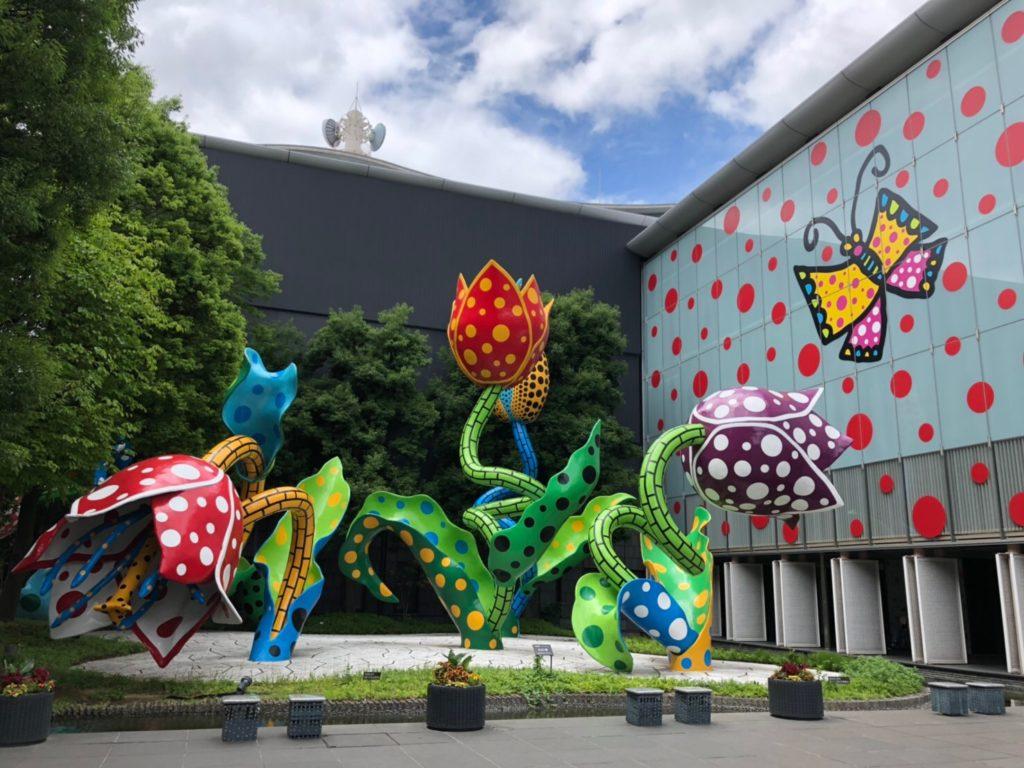 松本市美術館「幻の華」