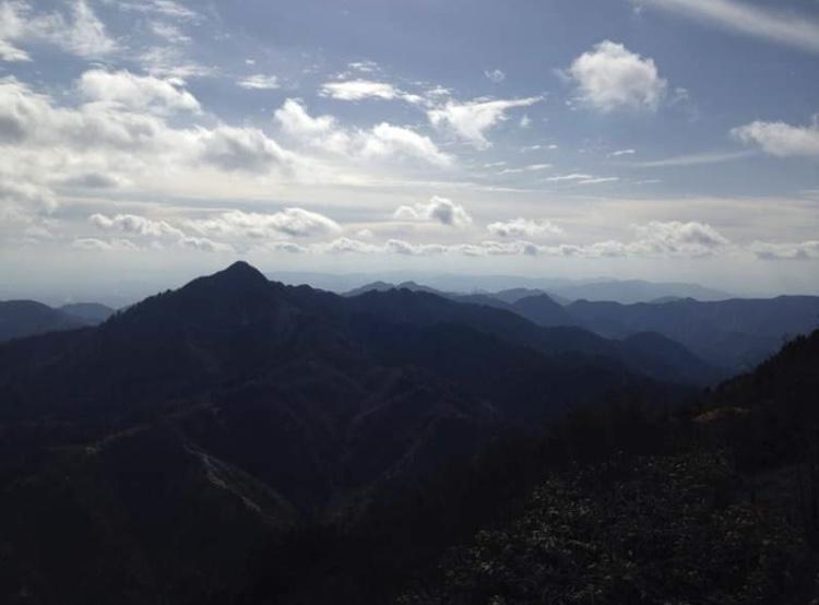御在所岳から見た景色