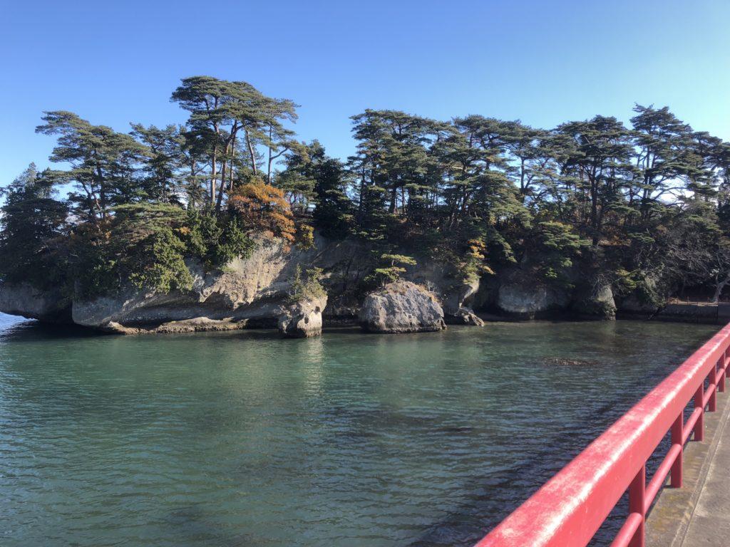 福浦橋から見る福浦島