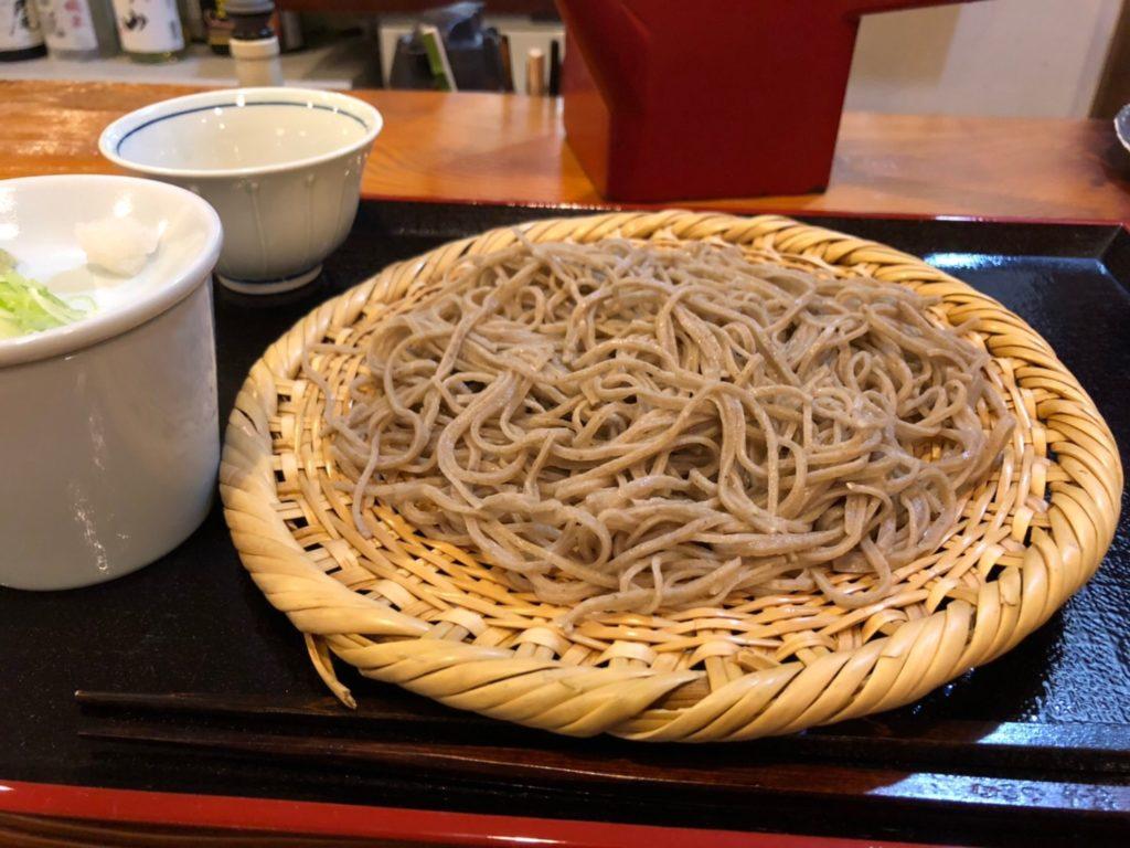 蕎麦倶楽部 佐々木 の「信州蕎麦」