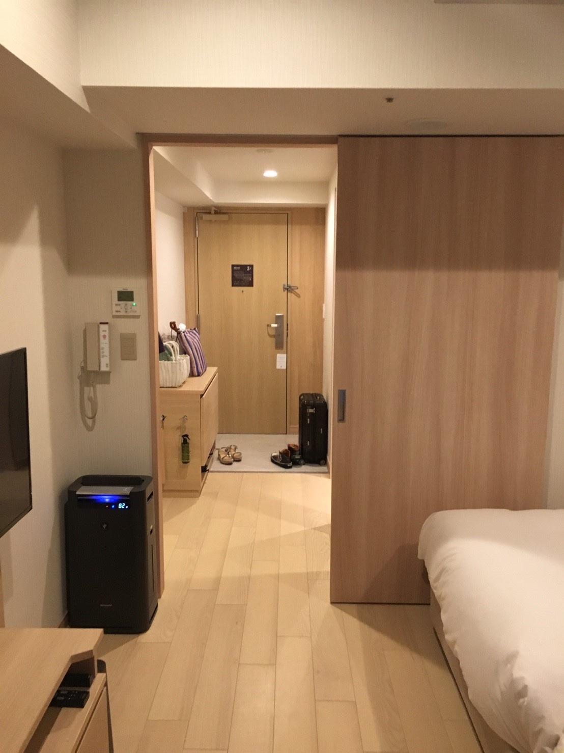 はなをりの客室内:玄関