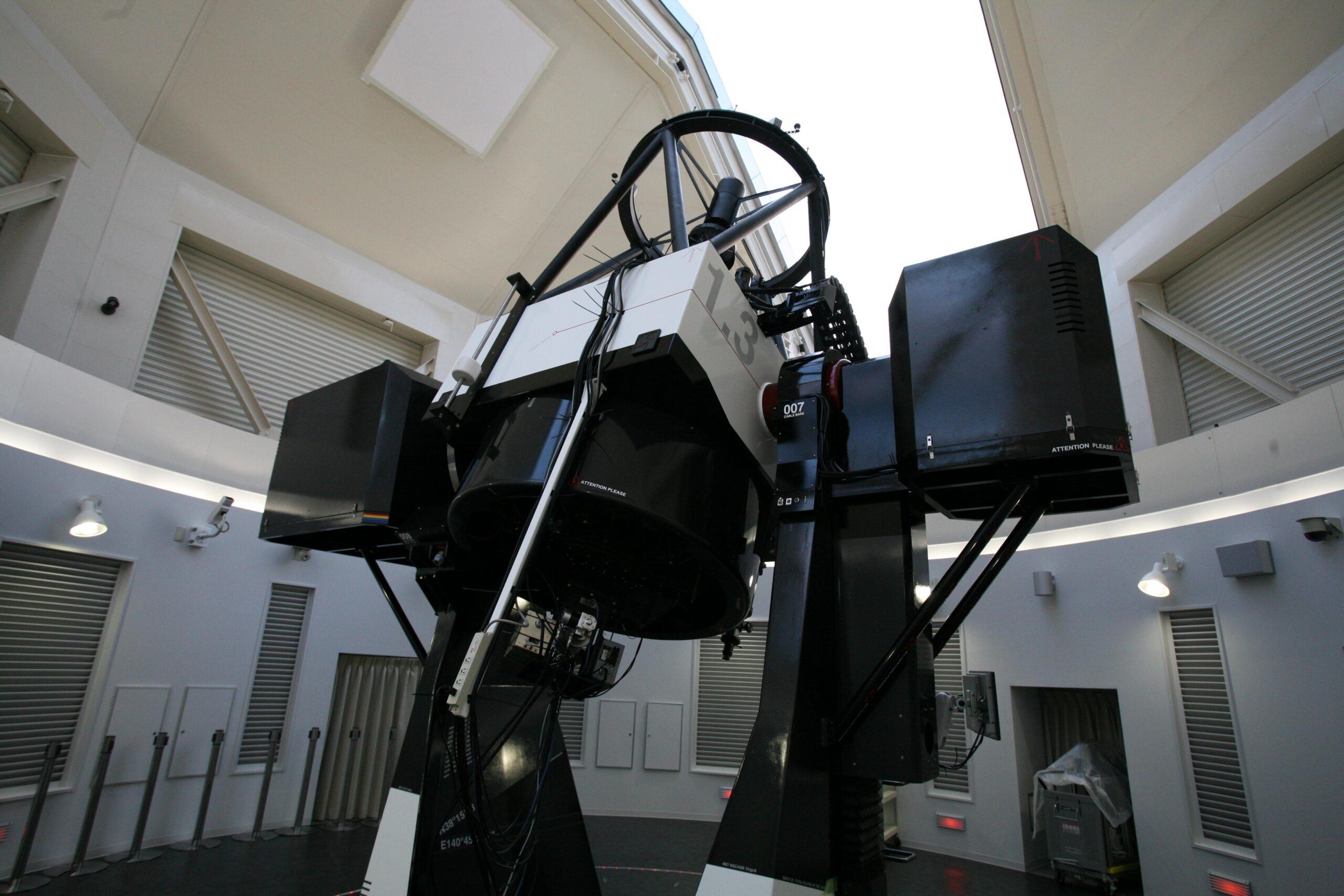 仙台市天文台の天体望遠鏡