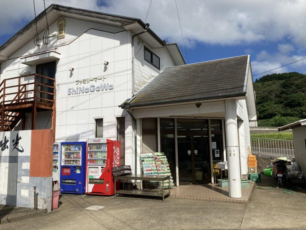 壱岐リトリートの海里村上の近くにあるファミリーマート