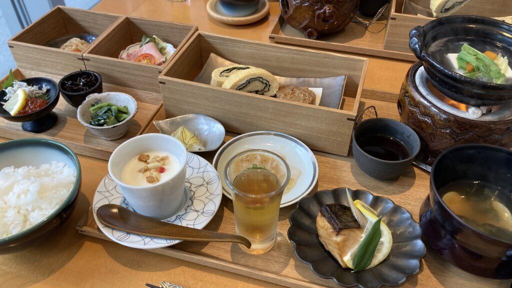 瀬戸内リトリート青凪の朝食例