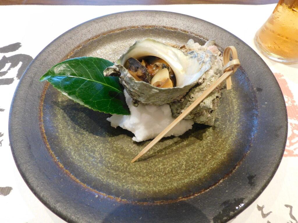 壱岐リトリート海里村上の夕食の焼物