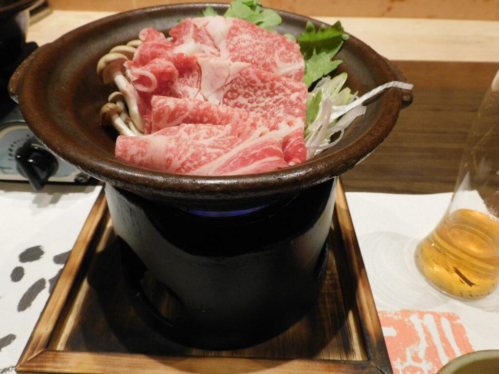 壱岐リトリート海里村上の夕食の肉料理