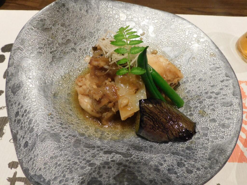 壱岐リトリート海里村上の夕食の温物