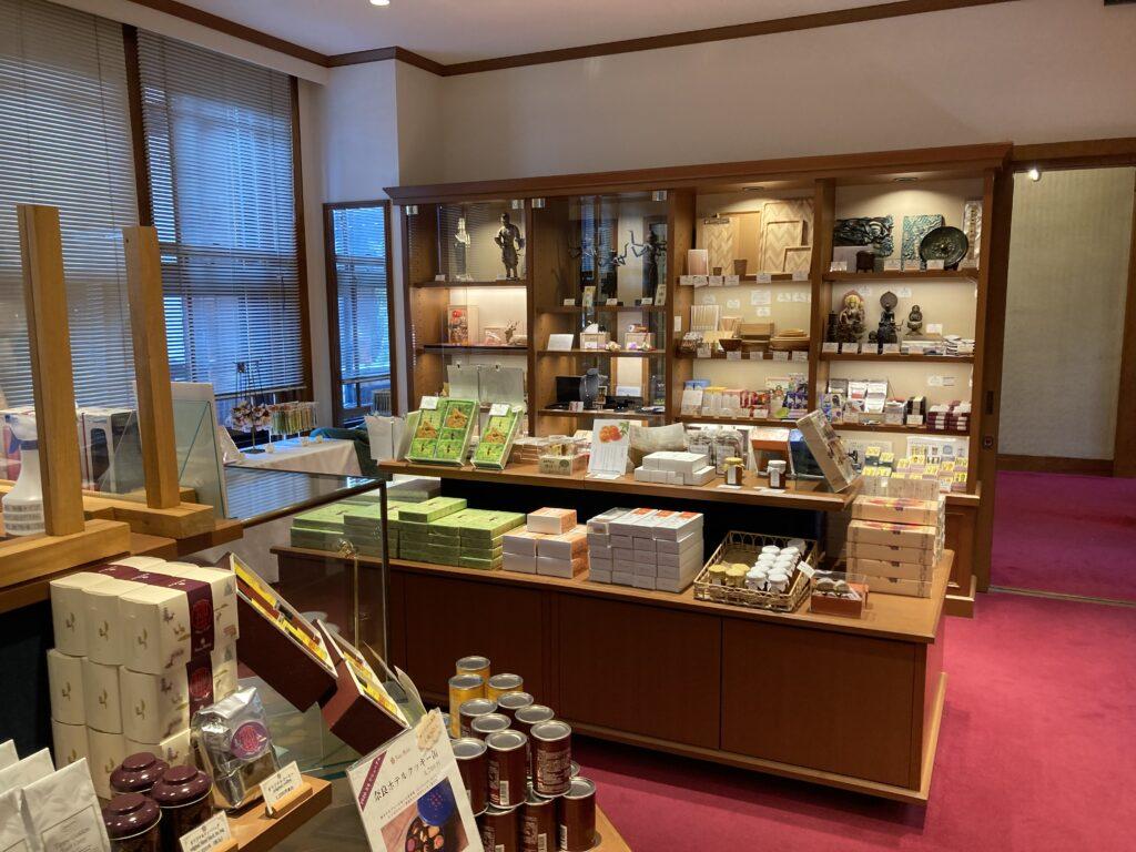 奈良ホテルのショップ