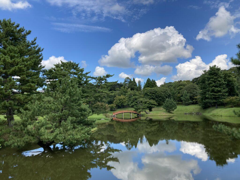 庭園(旧大乗院庭園) の景色