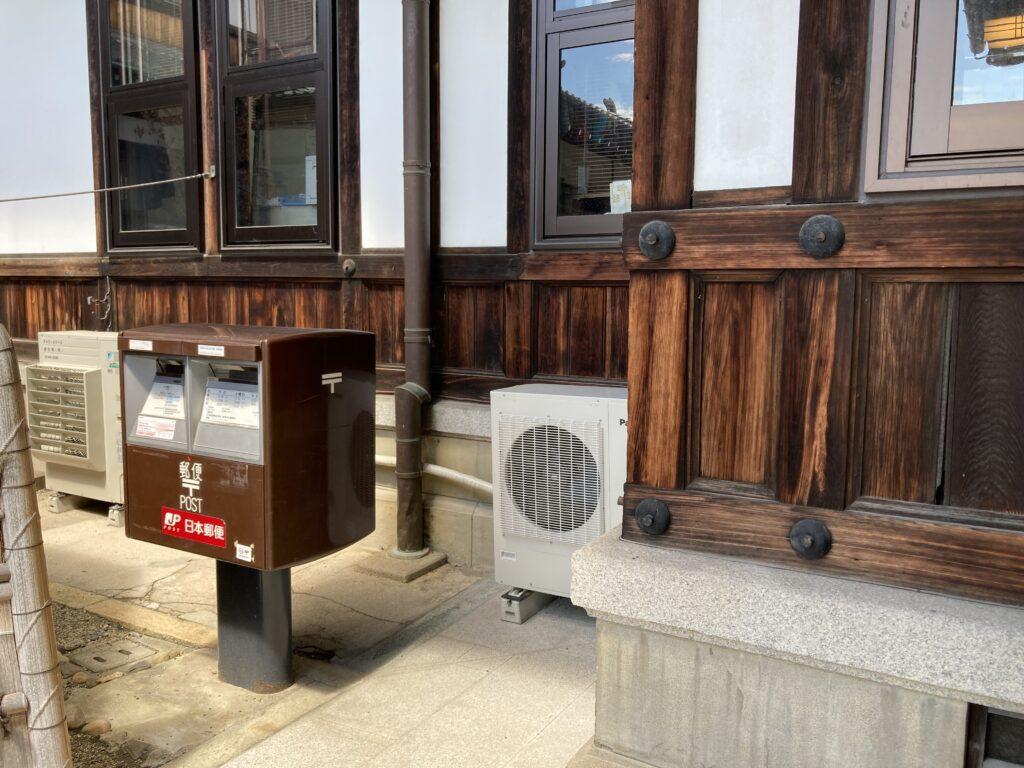 奈良ホテルの郵便ポスト