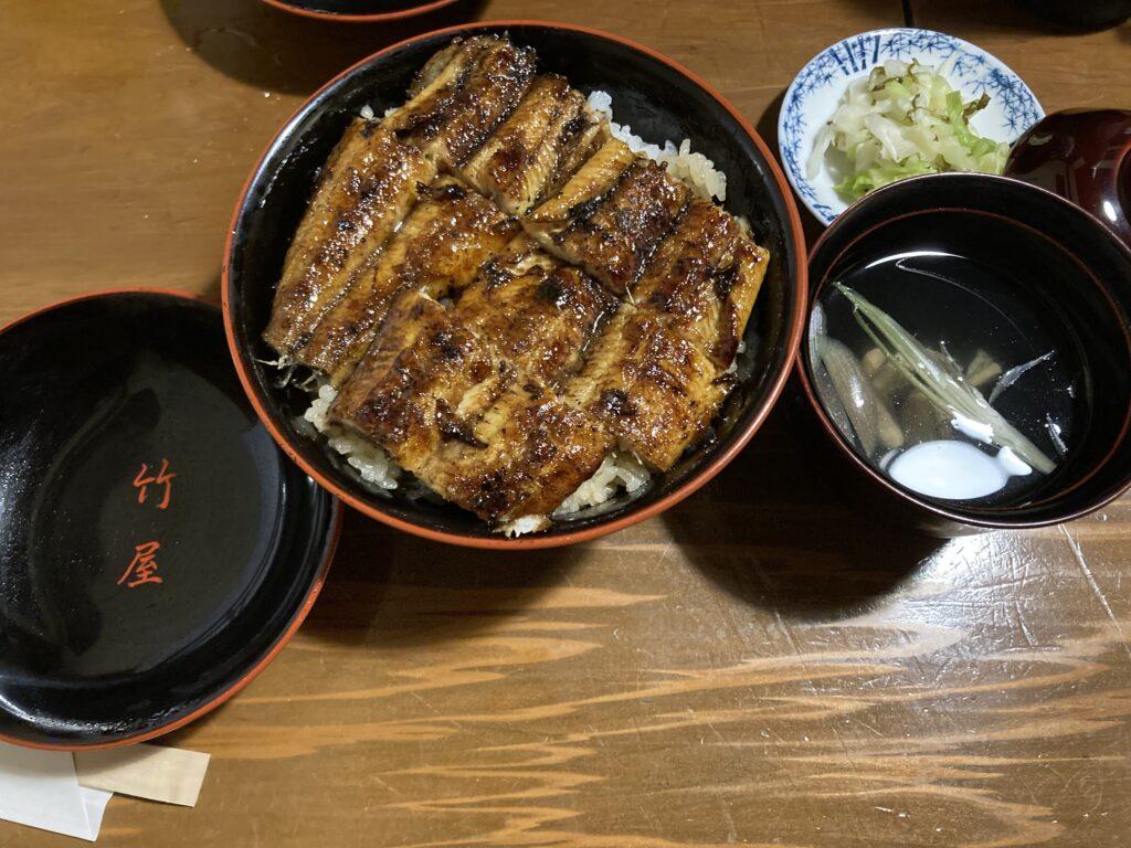 「竹屋」 の鰻丼