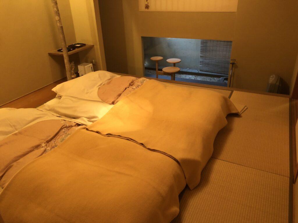 游僊の寝室