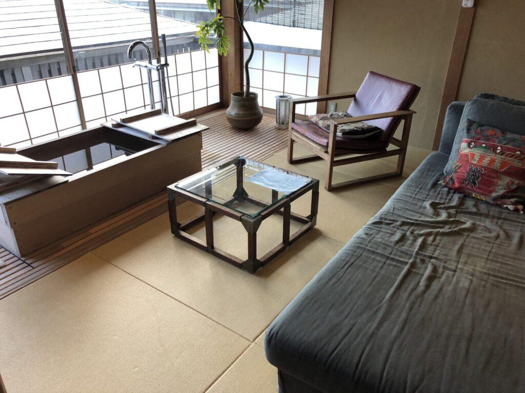 游僊の2階リビング
